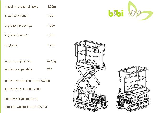 ALMAC BIBI 410 scheda-prodotto